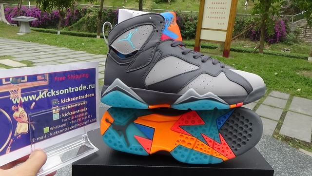 82ee47395dd239 Authentic Air Jordan 7 Bobcats on sale