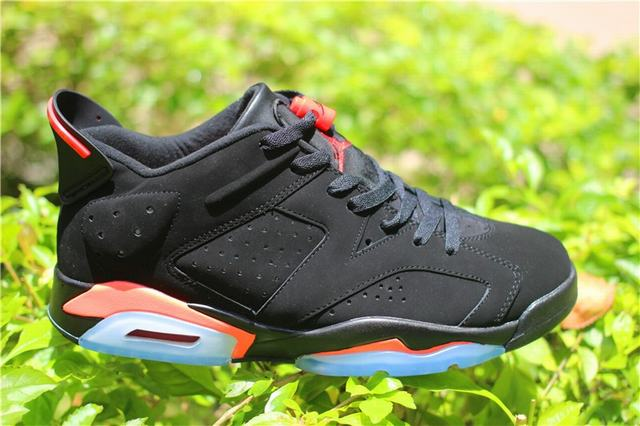 ec90ef1297d74d Authentic Air Jordan 6 Low Black Infrared on sale