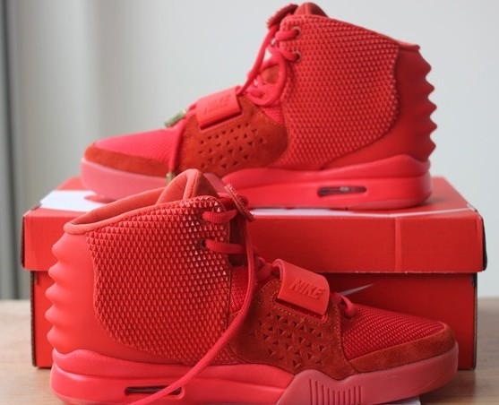 195c73a8c3b7a Authentic Nike Air Yeezy 2 Red October(Updates version) on sale