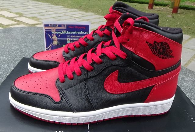 "Authentic Air Jordan 1 Retro High OG ""Banned"" on sale 253795267"