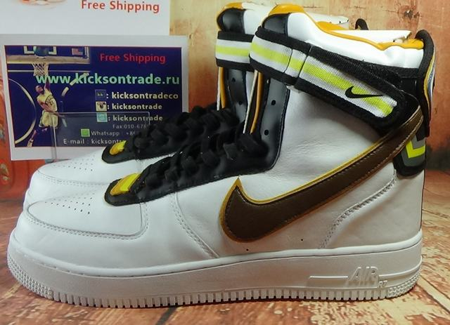 reputable site 056b1 a5404 Authentic Nike Air Force 1 High SP Riccardo Tisci Givenchy White