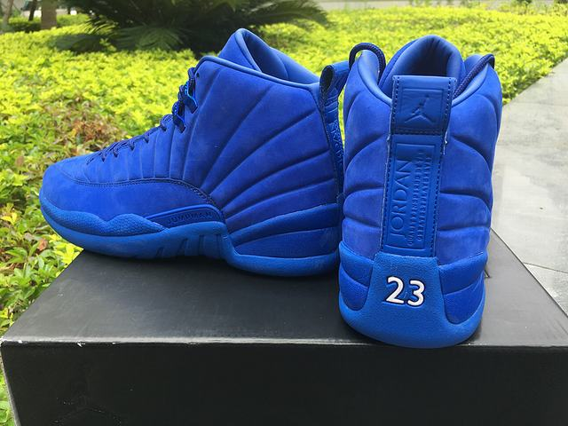 2d9ef613bd7416 ... best price authentic psny x air jordan 12 blue c7afe b7761