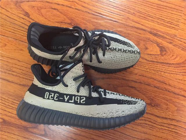 637cba955e8 Authentic Adidas Yeezy 350 V2 Olive Green on sale