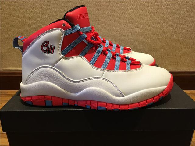 3930699221540f Authentic Air Jordan 10 Chicago Flag on sale
