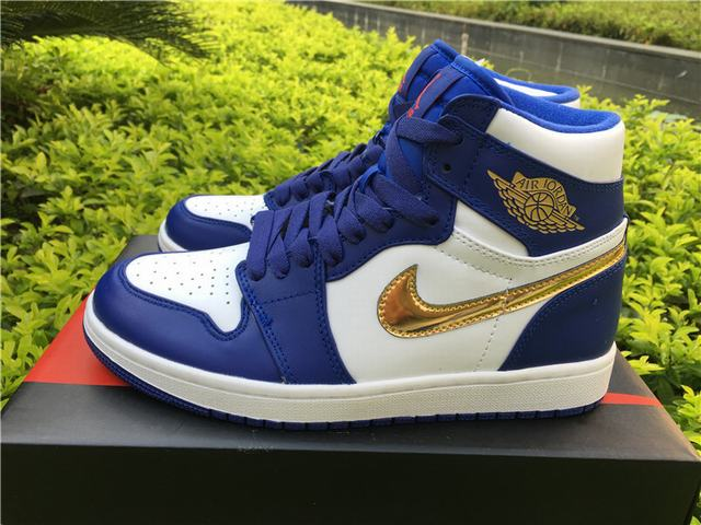 Authentic Air Jordan 1 OG Retro High Olympic Gold on sale a00f4de54d3d