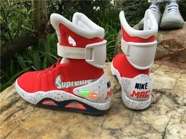 Authentic Supreme X Nike Air Mag on