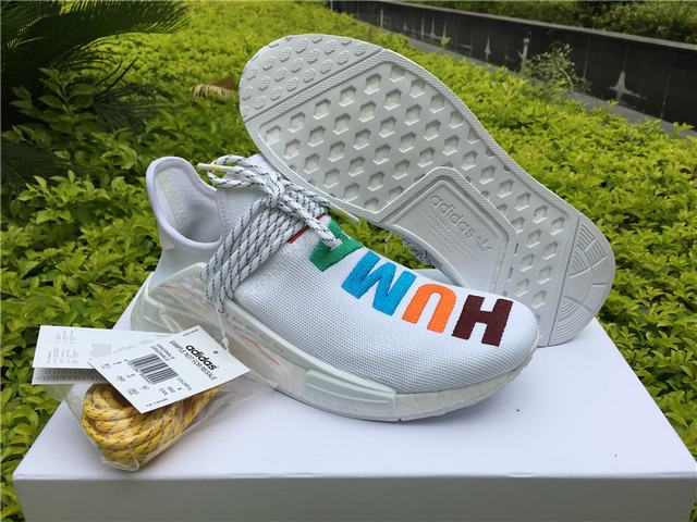 c66ea4fb7 Authentic Adidas Human Race NMD x Pharrell Williams White on sale ...