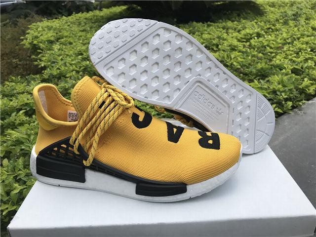 Authentic Adidas Human Race NMD x Pharrell on Williams Yellow on Pharrell sale f0b9b0