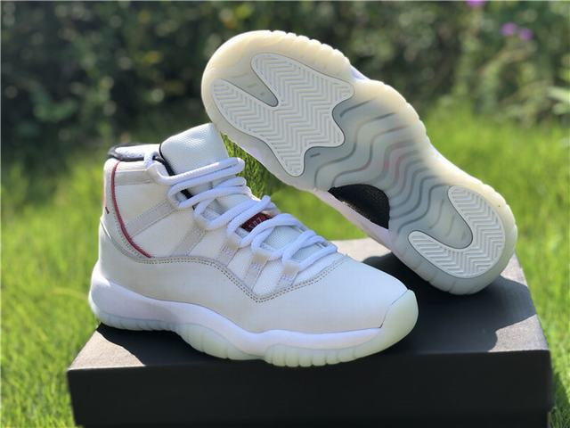 "best service 39a51 92c87 Authentic Air Jordan 11 ""Platinum Tint"" GS"