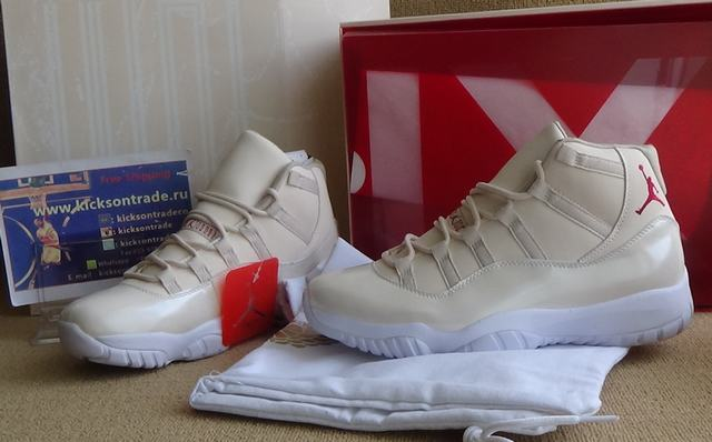 afd5cf9a3d6edd Authentic Air Jordan 11 OVO White on sale
