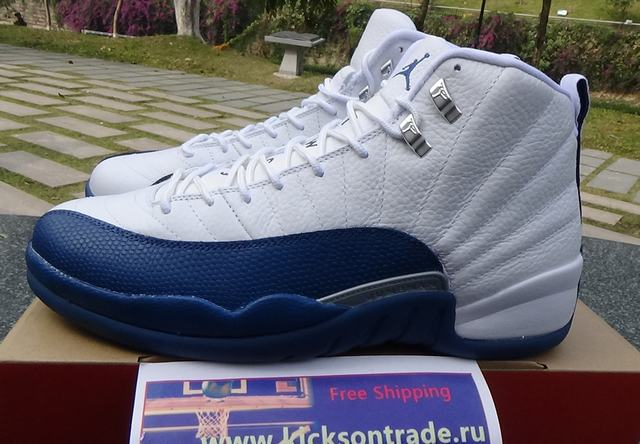 afc28043512 Authentic Air Jordan 12 Retro French Blue on sale,for Cheap,wholesale