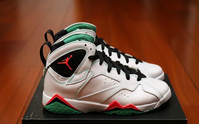 """3cc2228682a5 Authentic Air Jordan 7 GS """"Verde"""" on sale"""