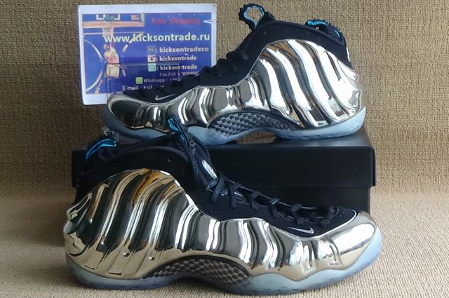 """Authentic Nike Air Foamposite One """"Mirror All-Star""""(in stock)"""