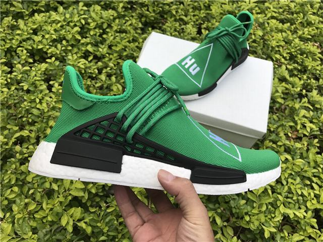 3245a38a88039 Home Men Authentic Adidas NMD Shoes Authentic Adidas Human Race NMD x Pharrell  Williams Green