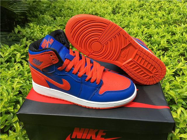 "495508299725 Authentic Air Jordan 1 Retro High OG ""Knicks"" on sale"