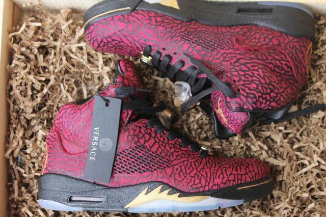 6990ca698e36 Authentic Air Jordan 3lab5 Versace(Wooden Box) on sale