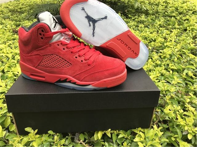 """the latest 4781b 52265 Authentic Air Jordan 5 """"Raging Bull"""" 2017 GS on sale,for ..."""