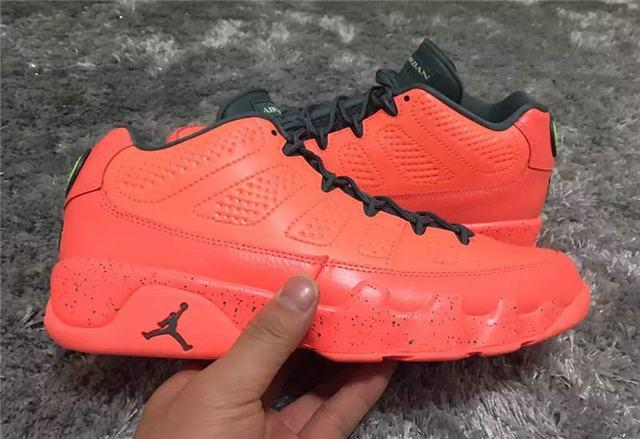 5098047229cc Authentic Air Jordan 9 Low Bright Red on sale