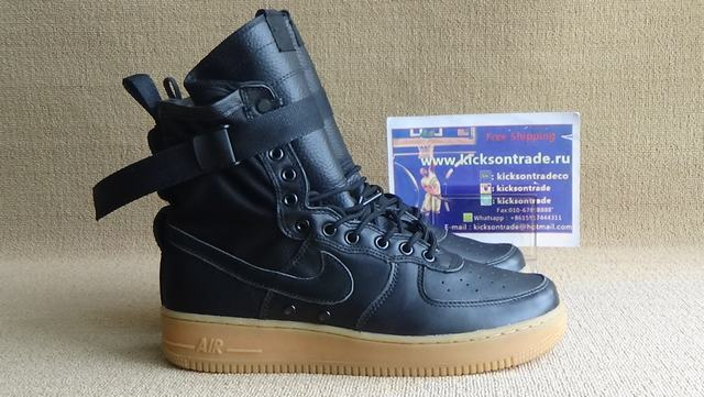 big sale 43922 39559 Authentic Nike Special Field Air Force 1 Black