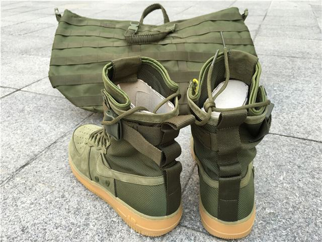 Authentic Nike Special Field Air Force 1 Deep Green on sale